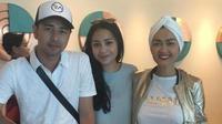 Julia Perez, Raffi Ahmad dan Nagita Slavina