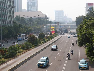 Jalan MH Thamrin Lancar