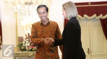 20160408- Presiden Jokowi Terima Delegasi  Uni Eropa di Istana Negara-Jakarta- Faizal Fanani