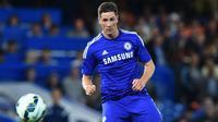 5. Fernando Torres (58,5 Juta Euro) - Chelsea secara mengejutkan mendatangkan Fernando Torres dari Liverpool pada bursa trasnfer Januari 2011. Penyerang asal Spanyol ini bergabung dengan Chelsea dengan harga transfer mencapai 58,5 juta euro. (AFP//Ben Stansall)