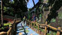 Kebun Binatang Surabaya memiliki jogging track (Foto: Liputan6.com/Dian Kurniawan)