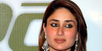 Aktris cantik Kareena Kapoor baru saja menyelesaikan syuting film terbarunya yang bertajuk 'Udta Punjab'. (Bintang/EPA)