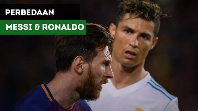 Apakah perbedaan yang ada di dalam Lionel Messi dan Cristiano Ronaldo menurut Carlos Tevez?
