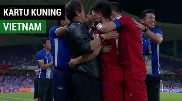 Berita video Vietnam lolos dari fase grup Piala Asia 2019 setelah memiliki jumlah kartu kuning lebih sedikit dibanding Libanon.