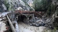 Dampak Badai Alex di Prancis. Dok: Securite Civile via AP Photo