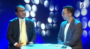 Saiful Mujani dari SMRC memberikan keterangan terkait hasil dari beberapa calon di Pilkada Serentak 2018.
