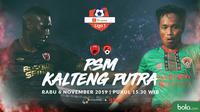 Shopee Liga 1 - PSM Makassar Vs Kalteng Putra - Head to Head Pemain (Bola.com/Adreanus Titus)