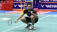 Tunggal putra Indonesia, Anthony Sinisuka Ginting. (PBSI)