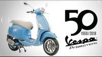 Vespa Primavera edisi 50 tahun (Piaggio)