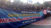 Deklarasi pelajar Garut menolak LGBT (Liputan6.com/Jayadi Supriadin)