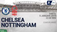 FA Chelsea Vs Nottingham Forest (Bola.com/Adreanus Titus)