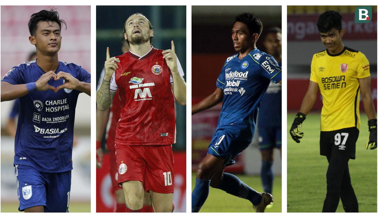 Kolase foto-foto dari pemain terbaik versi Bola.com saat berlaga dalam ajang Piala Menpora 2021. (Foto: Bola.com)