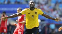 2. Romelu Lukaku (Belgia) - 4 Gol. (AP/Hassan Ammar)