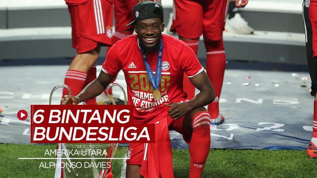 Cover Video Alphonso Davies dan 5 Bintang Bundesliga Terbaik Asal Amerika Utara