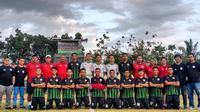 Persiwa Wamena di Piala Indonesia 2019. (Bola.com/Gatot Susetyo)