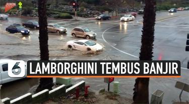 Thumbnail lamborghini tembus banjir