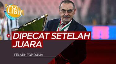 Berita Video Spotlight 4 Pelatih yang Didepak setelah Meraih Juara termasuk Maurizio Sarri di Juventus