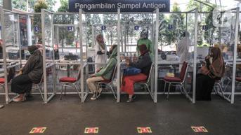 Harga Tes Antigen di Stasiun Kereta Turun Jadi Rp 45 Ribu Mulai 24 September 2021