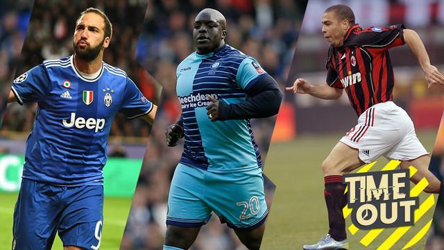 Berita video Time Out yang membahas pesepak bola yang memiliki tubuh gempal alias gemuk, salah satu contohnya adalah Ronaldo Luis Nazario de Lima.