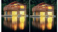 Keenam rumah ini terapung di atas air dengan desain yang menakjubkan.