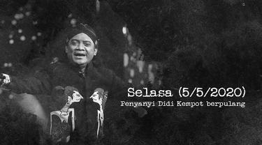 Sebelum Meninggal dunia, Didi Kempot masih aktif berkarya dan menggelar sejumlah konser yang dihadiri ribuan Sobat Ambyar, sebutan penggemarnya.