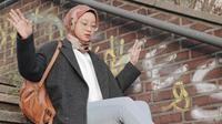 Inspirasi hijab outfit ala Gitasav. (dok. Instagram @gitasav)