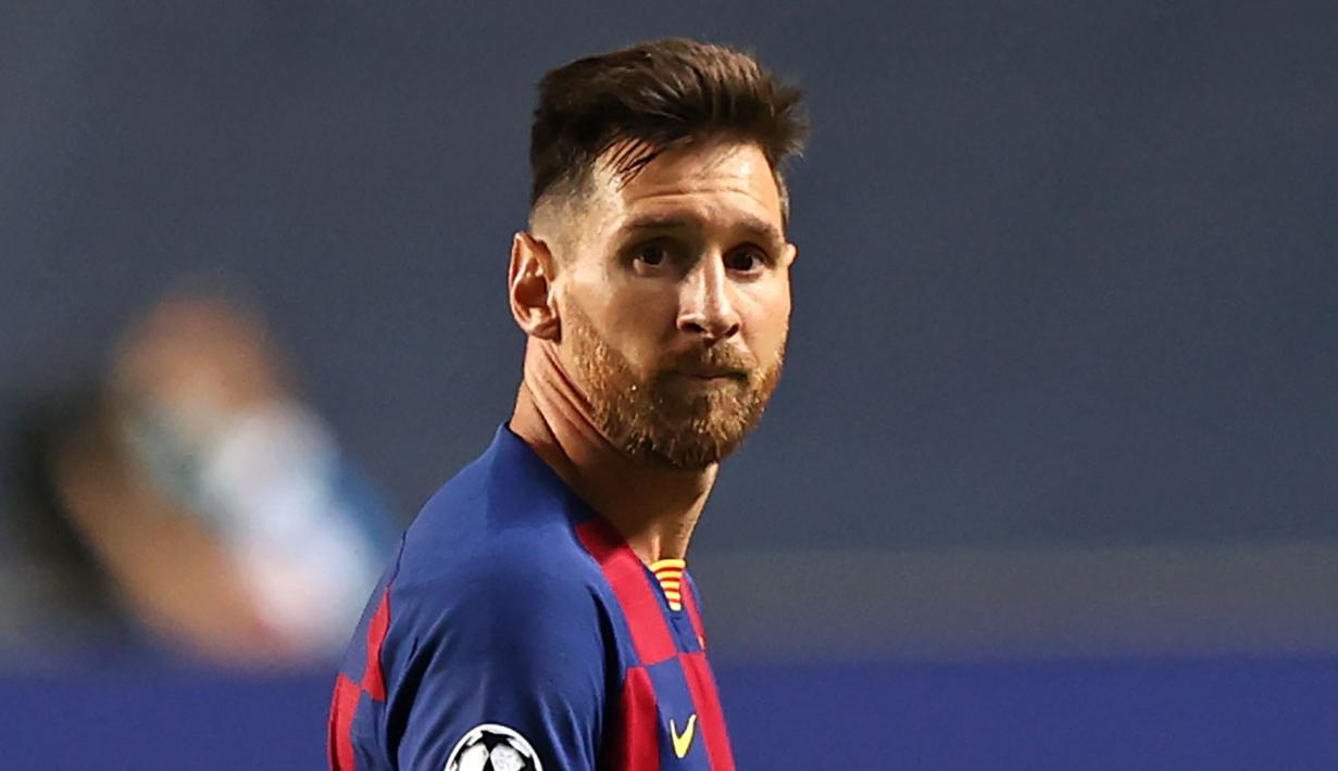 FOTO: Transformasi Gaya Rambut Lionel Messi Selama ...