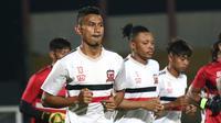 Striker Madura United, Rivaldi Bawuo. (Bola.com/Aditya Wany)