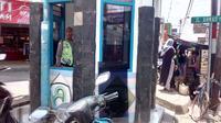 Pos Polisi di Jalan Ahmad Yani, Kabupaten Garut dirusak orang tak dikenal. Foto: (Yandhi Deslatama/Liputan6.com)
