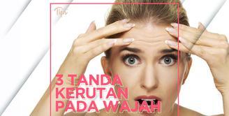 3 Kerutan pada Wajah Ini Jadi Tanda Kondisi Kesehatan Kamu