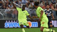 4. Nicolas Pepe (Lille) - 8 gol dan 5 assist (AFP/Nicolas Tucat)
