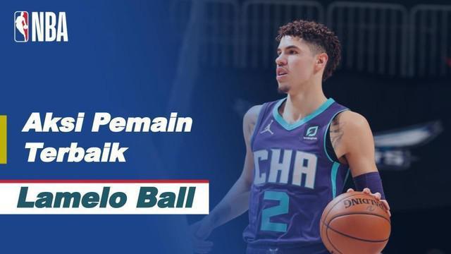 Berita video aksi-aksi terbaik LaMelo Ball saat Charlotte Hornets kalahkan Atlanta Hawks di NBA, Minggu (10/1/21)