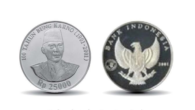 Rupiah Khusus Seri 100 Tahun Pemimpin Republik Indonesia. (Dok BI)