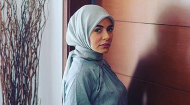 Meisya Siregar tampil berhijab 10 hari jelang Ramadan. (Liputan6.com/IG/meisya__siregar)