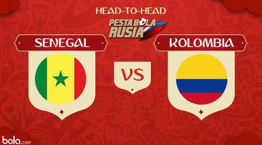 Berita video head-to-head Piala Dunia Rusia 2018: Senegal vs Kolombia.