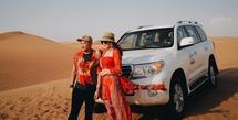 Keluarga Anang Hermansyah dan Ashanty di Dubai (Instagram/azriel_hermansyah)