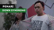 Penari down syndrome dari Sanggar Tari Gigi Art of Dance meriahkan Asian Para Games di Zona Inspirasi.