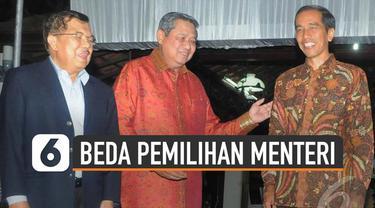 Calon menteri periode 2019-2024 dipanggil ke istana negara (21/10/19). Terdapat perbedaan cara presiden dalam melakukan pemilihan menteri-menterinya.