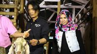 Charly mendatangi Pondok Pesantren Daarur Rasul di daerah Cibinong, Bogor