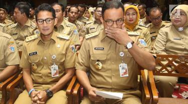 Anies Sampaikan Pemaparan di Hadapan Lurah dan Camat se-DKI Jakarta