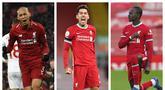 Persaingan dua raksasa Inggris, Manchester United dan Liverpool tak melulu dalam hal perebutan gelar. Dalam hal merekrut pemain pun mereka saling sikut. Di sinilah kelebihan Liverpool. Mereka sukses menelikung 5 pemain incaran Setan Merah berikut ini. (Kolase Foto AFP)