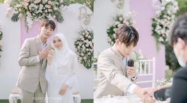 6 Momen Pernikahan Aa Daehoon dan Julia Prastini, Seleb TikTok Mualaf Asal Korea