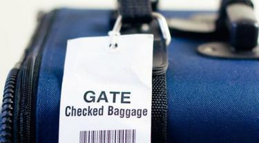 Ilustrasi bagasi koper