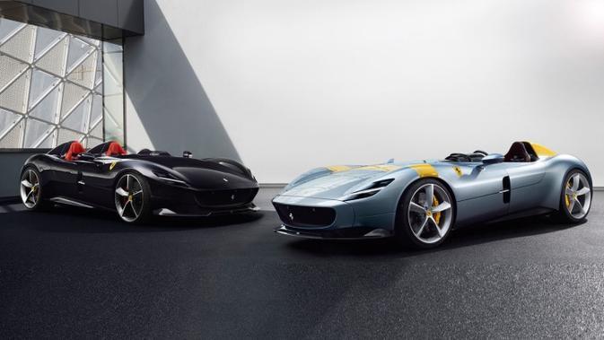 Duo Ferrari Monza SP1 dan SP2 direncanakan bakal muncul di Paris Motor Show 2018.