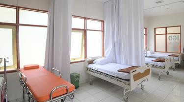 Rumah Sakit Darurat COVID-19 Secapa AD di Hegarmanah, Kota Bandung