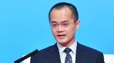 Bos Meituan Wang Xing.Photo: Xinhua