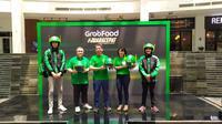 Pencapaian GrabFood dalam setahun terakhir (Liputan6.com/Agustinus M. Damar)