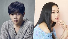 Kim Min Suk dan Park Yoo Na (Soompi)