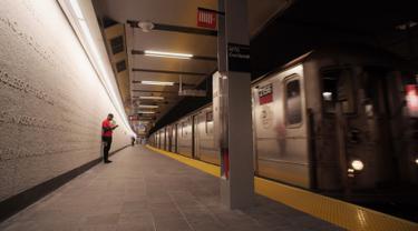 Stasiun di New York Beroperasi Lagi