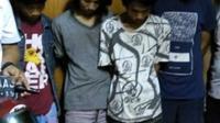 Rumah ABG di Palembang jadi gudang hasil pencurian motor. (Merdeka.com)